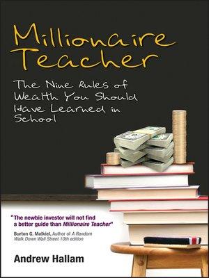 cover image of Millionaire Teacher