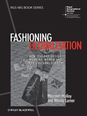 cover image of Fashioning Globalisation