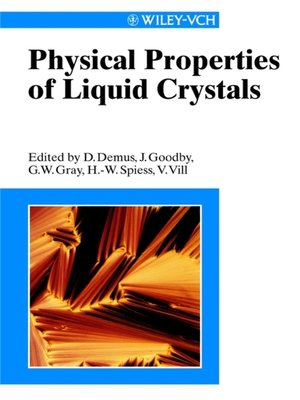 cover image of Physical Properties of Liquid Crystals