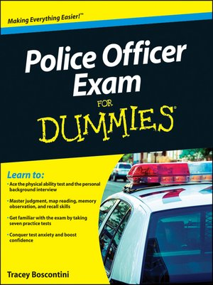 cover image of Police Officer Exam For Dummies