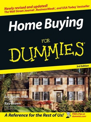 cover image of Home Buying For Dummies