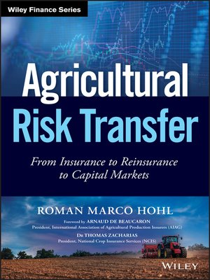 cover image of Agricultural Risk Transfer