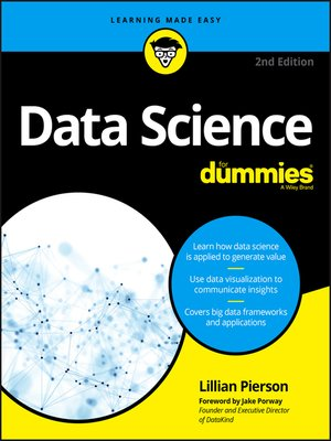 cover image of Data Science For Dummies