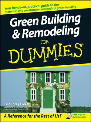 cover image of Green Building & Remodeling For Dummies