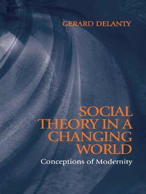 cover image of Social Theory in a Changing World