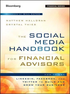cover image of The Social Media Handbook for Financial Advisors