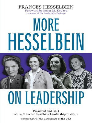 cover image of More Hesselbein on Leadership