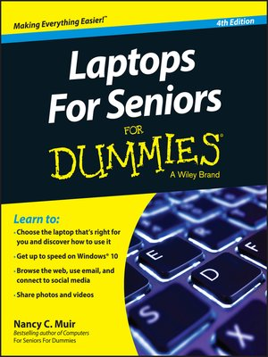 cover image of Laptops For Seniors For Dummies