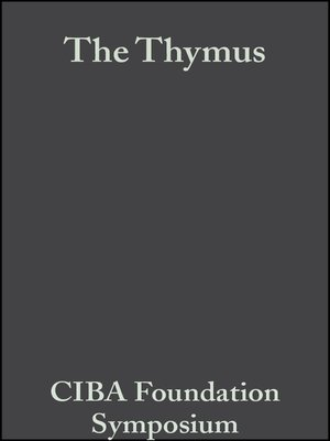 cover image of The Thymus