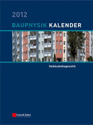 cover image of Bauphysik-Kalender 2012