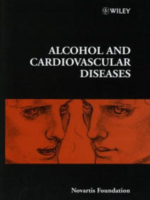 cover image of Alcohol and Cardiovascular Disease