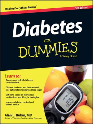 cover image of Diabetes for Dummies