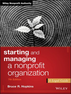 cover image of Starting and Managing a Nonprofit Organization