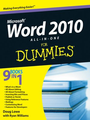 cover image of Word 2010 All-in-One For Dummies