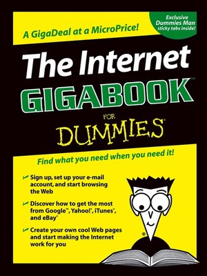 cover image of The Internet GigaBook For Dummies