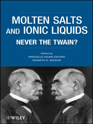 cover image of Molten Salts and Ionic Liquids