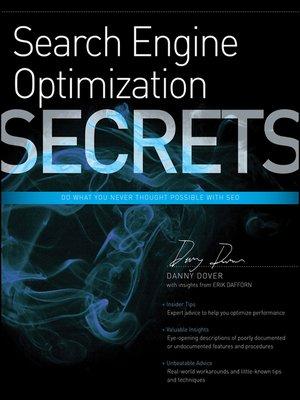 cover image of Search Engine Optimization (SEO) Secrets