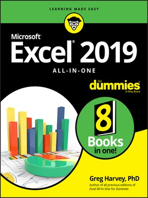 cover image of Excel 2019 All-in-One For Dummies