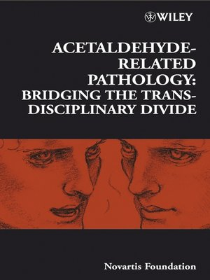 cover image of Acetaldehyde-Related Pathology