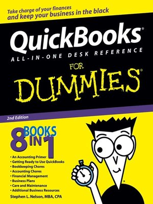 cover image of QuickBooks All-in-One Desk Reference For Dummies