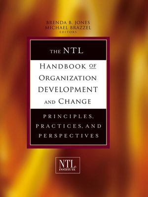 cover image of The NTL Handbook of Organization Development and Change
