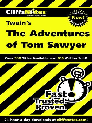 cover image of CliffsNotes on Twain's The Adventures of Tom Sawyer
