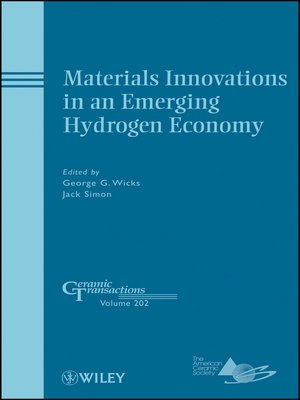 cover image of Materials Innovations in an Emerging Hydrogen Economy