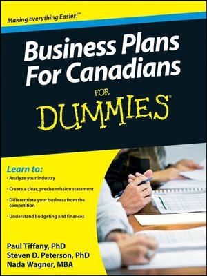 how to create a business plan for dummies