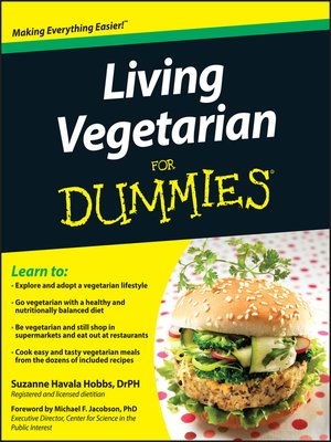 cover image of Living Vegetarian For Dummies
