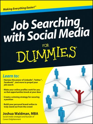 cover image of Job Searching with Social Media For Dummies