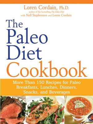 cover image of The Paleo Diet Cookbook