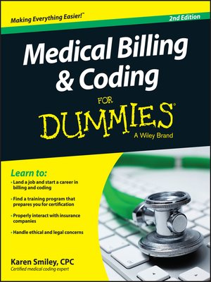 cover image of Medical Billing and Coding For Dummies