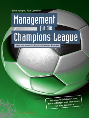 cover image of Management für die Champions League