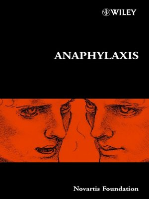 cover image of Anaphylaxis