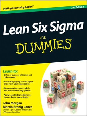 cover image of Lean Six Sigma For Dummies