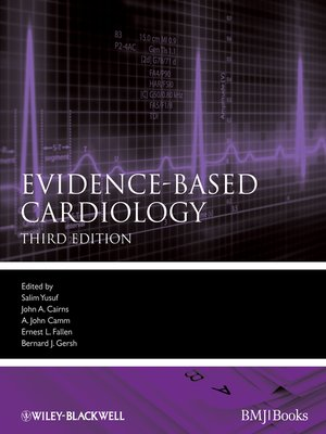 cover image of Evidence-Based Cardiology