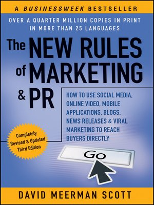 cover image of The New Rules of Marketing & PR