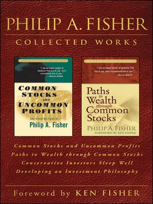 cover image of Philip A. Fisher Collected Works,  Foreword by Ken Fisher
