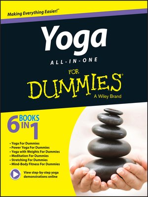 cover image of Yoga All-In-One For Dummies