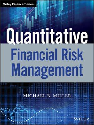 cover image of Quantitative Financial Risk Management