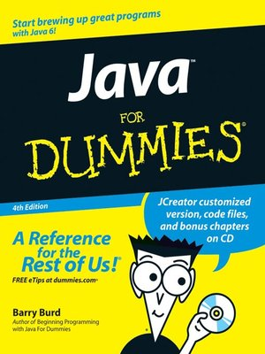 cover image of Java For Dummies