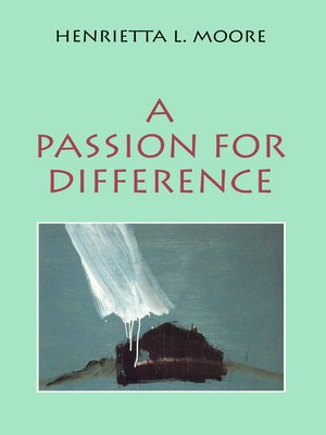 cover image of A Passion for Difference