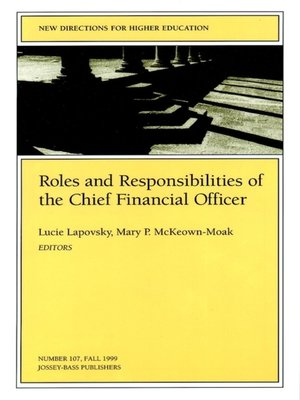 cover image of Roles and Responsibilities of the Chief Financial Officer