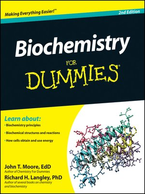 cover image of Biochemistry for Dummies