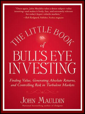 cover image of The Little Book of Bull's Eye Investing