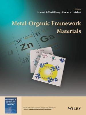 cover image of Metal-Organic Framework Materials
