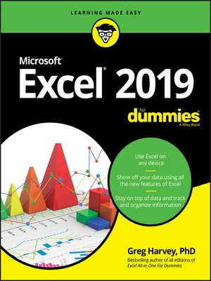 cover image of Excel 2019 For Dummies
