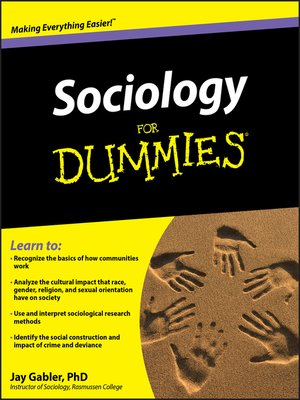 cover image of Sociology For Dummies