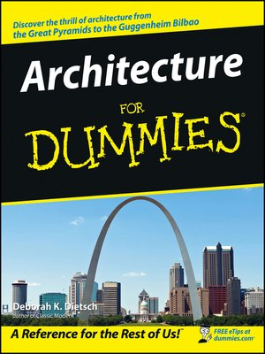 cover image of Architecture For Dummies