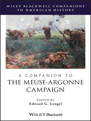 cover image of A Companion to the Meuse-Argonne Campaign